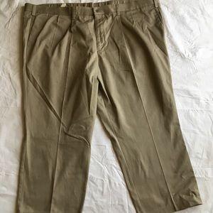 Dockers individual fit waistband men's khakis tan
